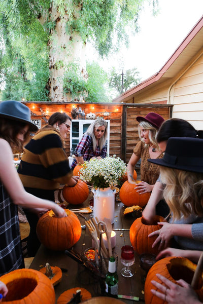 tremaine ranch pumpkin carving party