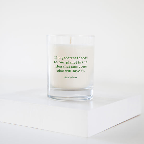 standard wax the nature conservancy give back candle
