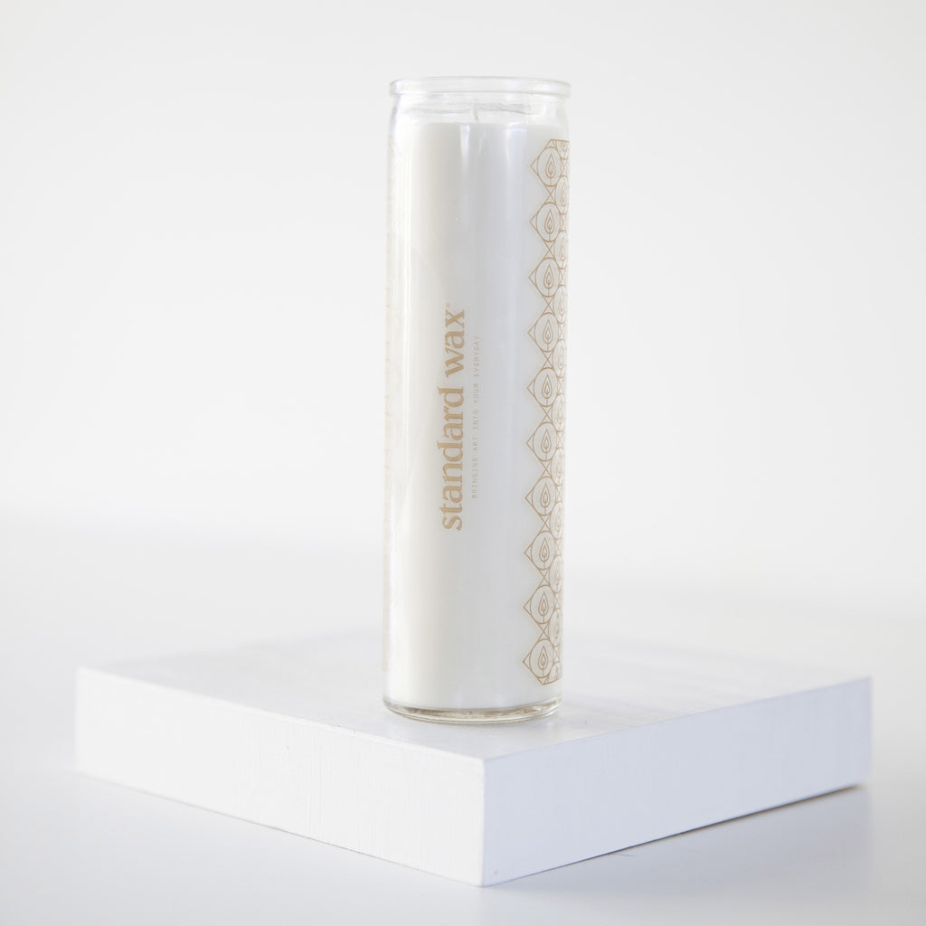 standard wax prayer candle