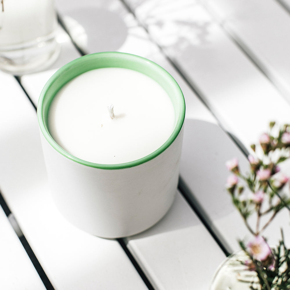 Bergamot + Basil Signature Candles