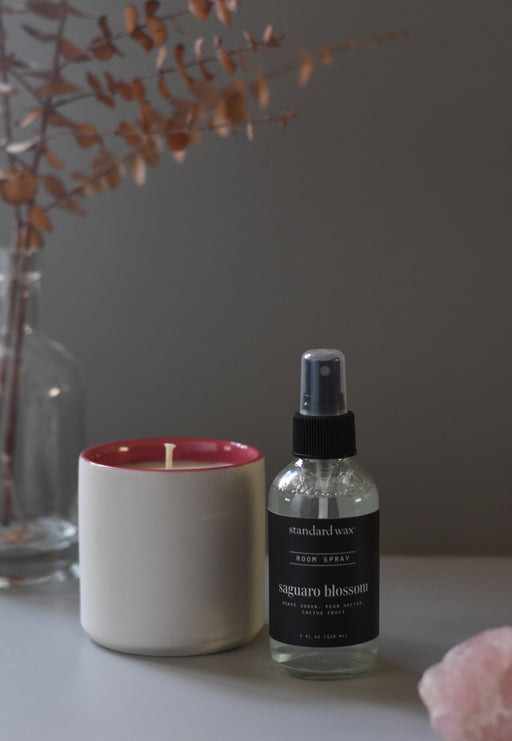standard wax throwback bundles featuring classic ceramic candles and room sprays