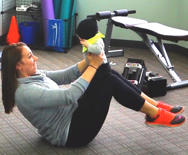 Healthy Mommin': Working out with Baby