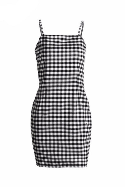 Dress - Lizzie Gingham Mini Dress