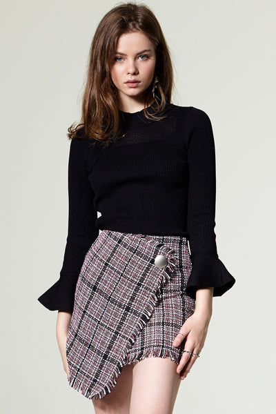 Greta Tweed Mini Skirt
