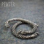 LARGE VIKING DRAGON BRACELET/TORC