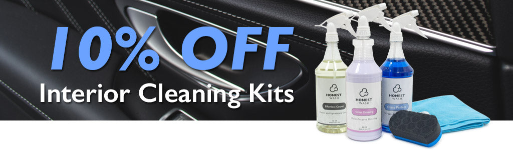 10% Off Interior Cleaning Kits