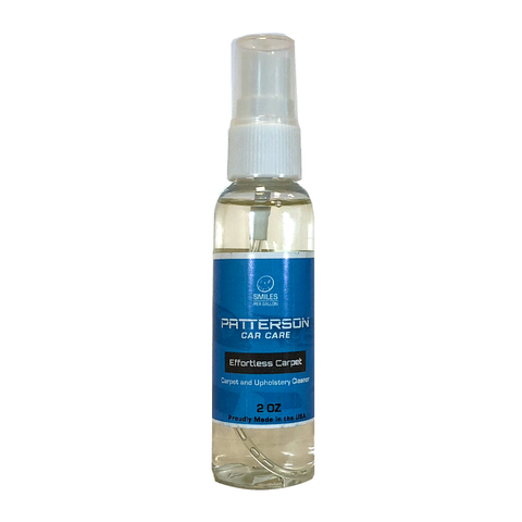 Effortless Carpet - Upholstery & Carpet Cleaner (2oz Sample)