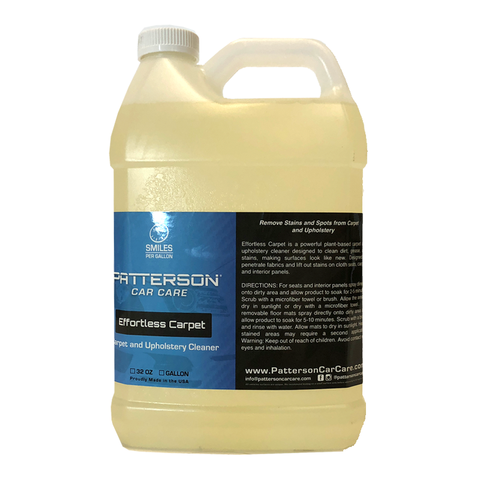 Effortless Carpet - Upholstery & Carpet Cleaner 1 Gallon