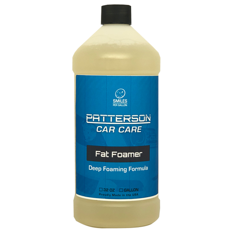 Fat Foamer - Foam Cannon/Sprayer Car Wash Soap (32oz)