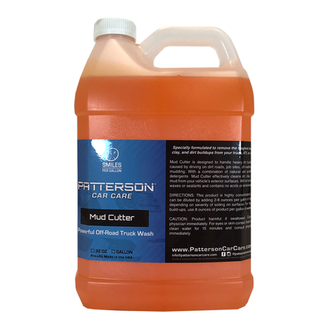 Mud Cutter - Off-Road & Truck Wash Soap 1 Gallon