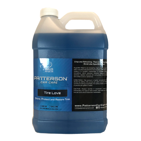 Tire Love - Long Lasting Tire Shine 1 Gallon