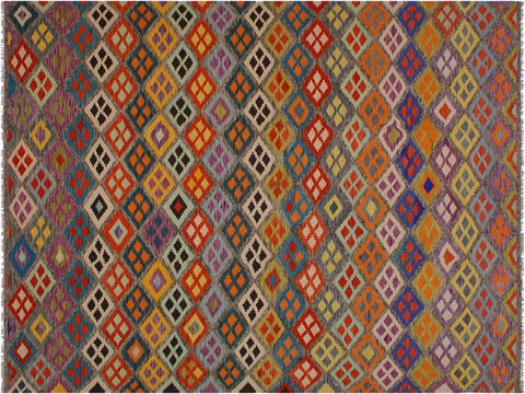 "A10232, 8' 4"" X 11' 4"",Geometric                     ,8' x 11',Beige,BROWN,Hand-woven                    ,Pakistan   ,100% Wool  ,Rectangle  ,652671189708"