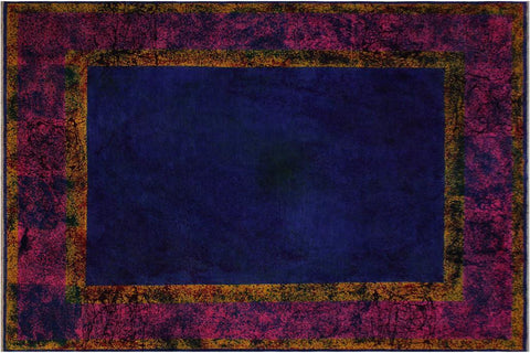 "A10473, 7'11"" X  9'11"",Over Dyed                     ,8' x 10',Pink,YELLOW,Hand-knotted                  ,Afghanistan,100% Wool  ,Rectangle  ,652671208287"