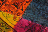 "A10478, 8' 2"" X 10' 0"",Over Dyed                     ,8' x 10',MAGENTA,ORANGE,Hand-knotted                  ,Pakistan   ,100% Wool  ,Rectangle  ,652671192067"