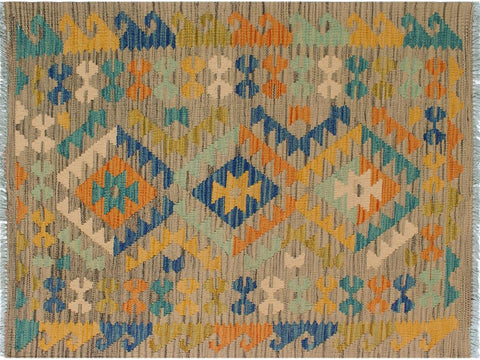 "A10540, 2' 9"" X  4' 1"",Geometric                     ,2' x 4',Brown,GOLD,Hand-woven                    ,Pakistan   ,100% Wool  ,Rectangle  ,652671192685"