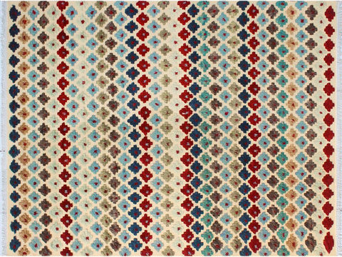 "A10577, 9' 0"" X 12' 0"",Modern                        ,9' x 12',Beige,BLUE,Hand-knotted                  ,Pakistan   ,100% Wool  ,Rectangle  ,652671193057"