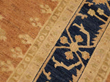 "A01069, 9' 1"" X 11' 5"",Traditional                   ,9' x 12',Brown,BLUE,Hand-knotted                  ,Pakistan   ,100% Wool  ,Rectangle  ,652671131776"
