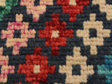 handmade Geometric Tribal Modern Balochi Blue Beige Hand-Knotted RECTANGLE 100% WOOL area rug 3x5 Hand knotted indoor Afghan Balochi area rug made for all rooms with high quality wool in rich color pallet handmade by skilled artisans in geometric, transitional, tribal design are known for high quality and affordable price. Oriental rug offered at cheap discount for any decor. Balochi Baluchi Baluch soft wool rug
