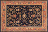 "A01074, 8'10"" X 11' 9"",Traditional                   ,9' x 12',Navy,LT. BROWN,Hand-knotted                  ,Pakistan   ,100% Wool  ,Rectangle  ,652671131820"