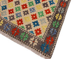 handmade Geometric Tribal Modern Balochi Beige Gray Hand-Knotted RECTANGLE 100% WOOL area rug 5x7 Hand knotted indoor Afghan Balochi area rug made for all rooms with high quality wool in rich color pallet handmade by skilled artisans in geometric, transitional, tribal design are known for high quality and affordable price. Oriental rug offered at cheap discount for any decor. Balochi Baluchi Baluch soft wool rug