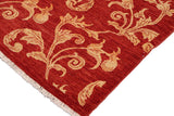 "A01089, 8'10"" X 11'10"",Transitional                  ,9' x 12',Red,GOLD,Hand-knotted                  ,Pakistan   ,100% Wool  ,Rectangle  ,652671131974"