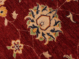 "A01092, 9' 1"" X 11' 9"",Traditional                   ,9' x 12',Red,BLUE,Hand-knotted                  ,Pakistan   ,100% Wool  ,Rectangle  ,652671132001"