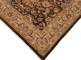 "A01099, 9' 1"" X 12' 0"",Traditional                   ,9' x 12',Brown,TAN,Hand-knotted                  ,Pakistan   ,100% Wool  ,Rectangle  ,652671132070"