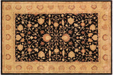 "A01104, 9' 0"" X 11'11"",Traditional                   ,9' x 12',Black,LT. GOLD,Hand-knotted                  ,Pakistan   ,100% Wool  ,Rectangle  ,652671132124"