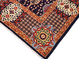 handmade Geometric Mamluk Blue Beige Hand Knotted RECTANGLE 100% WOOL area rug 9 x12 Hand knotted indoor mamluk wool area rug made for all rooms with high quality wool in rich color pallet handmade by skilled artisans in geometric, tribal design with center medallion is known for quality wool and affordable price. Oriental hand made rug offered at cheap discount for any decor one of a kind Mamluk Rug