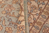 "A01110,10' 4"" X 13' 8"",Transitional                  ,10' x 14',Blue,TAN,Hand-knotted                  ,Pakistan   ,100% Wool  ,Rectangle  ,652671132186"