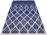 "A11149, 7'10"" X  9' 8"",Modern                        ,8' x 10',Blue,IVORY,Hand-knotted                  ,Pakistan   ,100% Wool  ,Rectangle  ,652671202667"