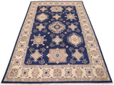 "A11278,10' 0"" X 13' 5"",Transitional                  ,10' x 14',Blue,IVORY,Hand-knotted                  ,Afghanistan,100% Wool  ,Rectangle  ,652671205637"