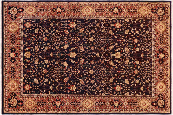 "A01139,10' 0"" X 13'10"",Transitional                  ,10' x 14',Blue,AUBERGINE,Hand-knotted                  ,Pakistan   ,100% Wool  ,Rectangle  ,652671132469"