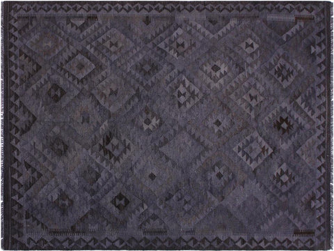 "A11508, 5'10"" X  8' 0"",Geometric                     ,6' x 8',Grey,BROWN,Hand-woven                    ,Afghanistan,100% Wool  ,Rectangle  ,652671210655"