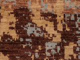 "A11539, 4'11"" X  7'11"",Modern                        ,5' x 7',Gold,BROWN,Hand-knotted                  ,Afghanistan,100% Wool  ,Rectangle  ,652671208348"
