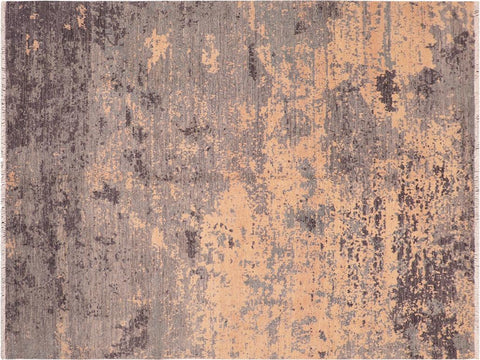 "A11542, 7' 9"" X  9'11"",Modern                        ,8' x 10',Grey,DRK. GRAY,Hand-knotted                  ,Afghanistan,100% Wool  ,Rectangle  ,652671208379"