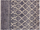 "A11545, 5' 0"" X  7' 1"",Modern                        ,5' x 7',Grey,IVORY,Hand-knotted                  ,Pakistan   ,100% Wool  ,Rectangle  ,652671210914"