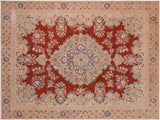 "A11634,10' 3"" X 13' 7"",Vintage                       ,10' x 14',Red,TAN,Hand-knotted                  ,Pakistan   ,100% Wool  ,Rectangle  ,652671213083"