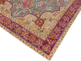 "A11636, 9' 6"" X 12' 2"",Vintage                       ,9' x 12',Grey,PURPLE,Hand-knotted                  ,Pakistan   ,100% Wool  ,Rectangle  ,652671213106"