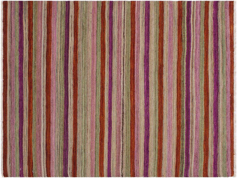 "A11651, 2'10"" X  3'11"",Geometric                     ,3' x 4',Rust,PURPLE,Hand-woven                    ,Pakistan   ,100% Wool  ,Rectangle  ,652671214035"