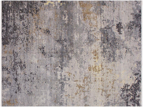 "A11728, 7' 9"" X 10' 2"",Traditional                   ,8' x 10',Grey,BROWN,Hand-knotted                  ,Pakistan   ,100% Wool  ,Rectangle  ,652671214707"