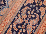 "A11760 9'10"" X 12' 8""Vintage                       10 x 13NavyCOPPERHand-knotted                  Pakistan   100% Wool  Rectangle  652671215025"