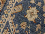 "A11773 2' 9"" X  6' 7""Traditional                   BlueIVORYHand-knotted                  Pakistan   100% Wool  Runner     652671215155"