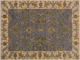 "A11779, 5' 6"" X  7' 8"",Traditional                   ,6' x 8',Grey,IVORY,Hand-knotted                  ,Pakistan   ,100% Wool  ,Rectangle  ,652671215216"