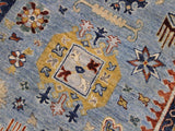 "A11795, 9' 0"" X 12' 0"",Traditional                   ,9' x 12',Blue,GOLD,Hand-knotted                  ,Pakistan   ,100% Wool  ,Rectangle  ,652671215360"