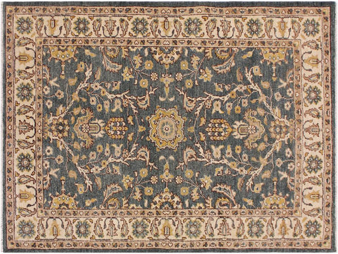 "A11799, 3'11"" X  5' 7"",Traditional                   ,4' x 6',Green,IVORY,Hand-knotted                  ,Pakistan   ,100% Wool  ,Rectangle  ,652671215407"
