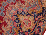 "A11811 9' 8"" X 13' 1""Vintage                       10 x 13PinkBLUEHand-knotted                  Pakistan   100% Wool  Rectangle  652671215513"