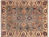 "A11835, 2' 1"" X  2'11"",Traditional                   ,2' x 3',Grey,IVORY,Hand-knotted                  ,Pakistan   ,100% Wool  ,Rectangle  ,652671215742"