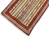 "A11846 1'11"" X  2'11""Geometric                     2x3'RustGREYHand-knotted                  Pakistan   100% Wool  Rectangle  652671215858"