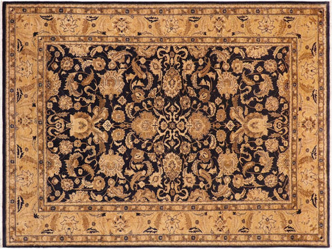 "A01184, 9' 8"" X 13' 2"",Traditional,10' x 14',Blue,TAN,Hand-knotted                  ,Pakistan   ,100% Wool  ,Rectangle  ,652671132902"